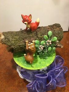 DISNEY Inspired- Fox and the Hound Cake-Topper-Party-Decoration