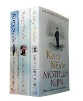 Kitty Neale 3 Books Romance Saga Mother's Ruin Sacrifice Family Betrayal New
