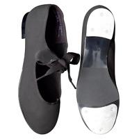 Black Capezio canvas tyette tap dance shoes 825 - assorted sizes