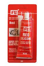 Hi-Temp RTV RED Silicone Gasket Sealant Maker 3.0 OZ. ( 85g ) Tube