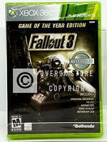Fallout 3 - Game of the Year Edition - Xbox 360 - Brand New | Factory Sealed