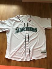 Majestic Authentic Cool Base Seattle Mariners Stitched Jersey Men's XXL