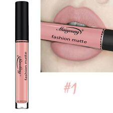 12Color Waterproof Matte Liquid Lipstick Lip Gloss Makeup Long Lasting Cosmetic