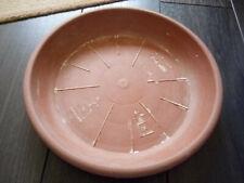 Soucoupe Ø28 cm pour pot de fleur marron