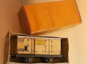Treno Ehd Scala O Carro Refrigerato Stef Maree Boulogne Sul Mare 1950 Scatola