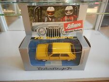 "Schuco VW VOlkswagen Golf 1 ""Deutsche Bundespost"" in Yellow on 1:43 in Box"