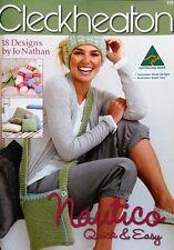 Cleckheaton Nautico Pattern Book 14ply - Quick & Easy #970 - 18 Knitting Designs