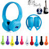 Foldable Wireless Bluetooth Headset Stereo Headphone Earphone For Samsung iPhone