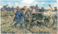 Union Artillery - American Civil War Figures Plastic Kit 1:72 Model 6038 ITALERI