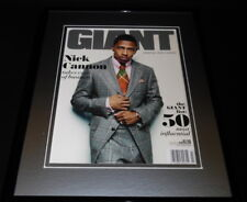 Nick Cannon Framed 11x14 ORIGINAL 2009 Giant Magazine Cover Wild N Out