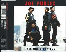 JOE PUBLIC - This one's for you CD-MAXI 4TR Austria Print 1992 RARE!!