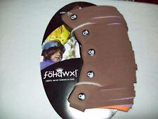 Fohawx Dreadlox- Brown, Purple and Orange Kid Helmet Accessories NWT