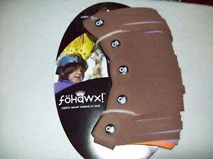 Fohawx Dreadlox- Brown, Purple and Orange Kid Helmet Accessories NWT