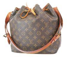 Authentic LOUIS VUITTON Petit Noe Monogram Shoulder Tote Bag Purse #36780
