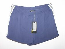 factorie Designer Navy White Stripe Sporty Crepe Shorts Size S BNWT #SP74