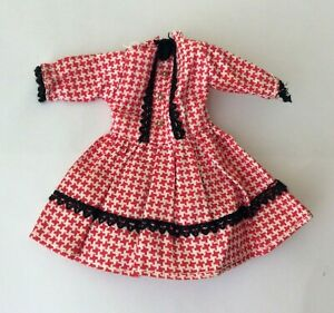 Attractive Dress for a small doll vintage dolls clothes