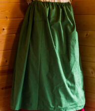 colonial 18th century or renassiance drawstring petticoat cotton skirt
