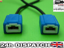 2x H1 H3 Ceramic Headlight Bulb Holder Socket Connector Wire Repair Plug