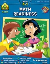 Workbooks-Math Readiness Grades K-1 by Joan Hoffman and Barbara Bando Irvin Ph.D