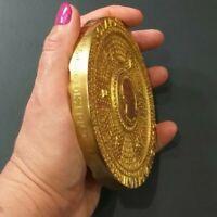 World Beauty Rotary International Award Medal 788 gr Golden Bronze