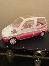 1995 Barbie Picnic Camping Mini Van, Rare, 100% Complete