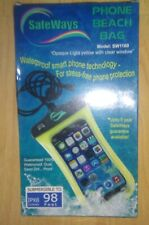 Safeways Corded Beach Pouch Waterproof Bag Case Cover Universal For Mobile Phone