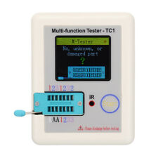 LCR-TC1 Transistor Tester TFT Diode Triode Capacitance Meter ESR NPN PNP MOSFET