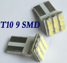 4x Auto T10 168 501 Super Hell Weiß 9 SMD LED 12V DC 5500K