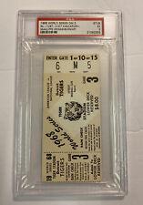 VIntage 1968 World Series G3 Ticket Stub Detroit Tigers/St Louis Cardinals PSA5
