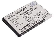 Li-ion batería para HTC S520 35h00123-22m 35h00123-00m Rhod160 Ba S390 A9292 Snap