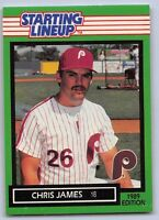 DETROIT TIGERS Kenner Starting Lineup Card 1989   MIKE HENNEMAN