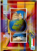 ITALIA FOLDER 2002 PATRIMONIO MONDIALE UNESCO VALORE FACCIALE E 20,00 sconto 30%