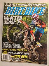 Dirt Bike Magazine KTM350XC-F 2 Stroke Power Tips October 2015 032817nonR