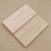 Bastelholz Baslten Dünne Holzplatte Deko Modell Modelbau Brettchen DIY 10x
