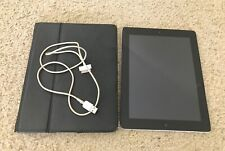 Apple iPad 3rd Generation 16GB Black WiFi with Cover/ film screen protector