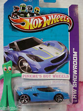 CASE F 2013 Hot Wheels LOTUS Project M250 #171 US Team∞Grabber BLUE∞Showroom