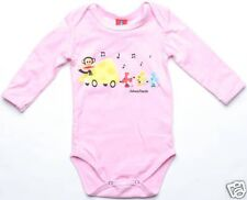 Paul Frank Cheese Car LS One Piece (3-6 mon) Pink