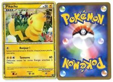 PROMO POKEMON PW PIKACHU HOLO FRANCAISE FRENCH Magnifique Carte