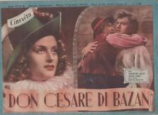 cinevita 42 DON CESARE DI BAZAN annelise uhlig gino cervi paolo stoppa 1942