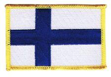 Finnland Aufnäher Flaggen Fahnen Patch Aufbügler 8x6cm