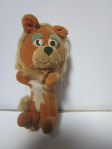 VINTAGE 1960'S MADE IN JAPAN STUFF ANIMAL FRIENDLY LION