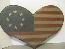 Flag Wood Decor ~ *Gift Idea