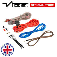 VIBE Critical Link Car Audio 10AWG 1500w Amplifier Wiring Installation Cable Kit
