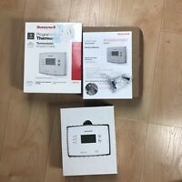 Honeywell 1 Week Programmable Thermostat RTH221B 4 period/day new in box ...