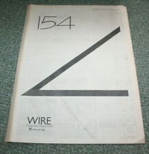 WIRE NME vintage press poster ad 1979