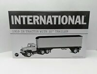 First Gear International 1959 IH Tractor with 30' Trailer - Roadway - New!