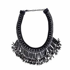 Necklace Ladies Party Outfit Choker Statement Chain G79