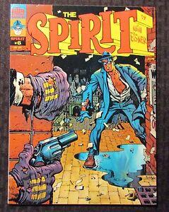1975 THE SPIRIT Warren Magazine #6 FVF 7.0 Author F. Paul Wilson FPW Collection