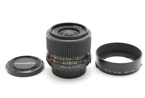【MINT】Minolta New MD 35mm f/1.8 MF Wide Angle SLR Lens From JAPAN