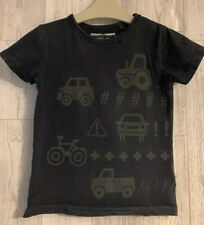 Boys Age 3-4 Years - Next T Shirt Top - Vehicle's Designs